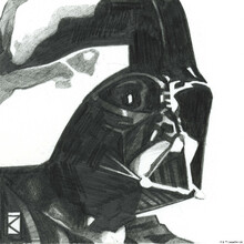Canvas print - Star Wars - Darth Vader 1