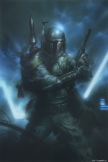 Wall mural - Star Wars - Boba Fett