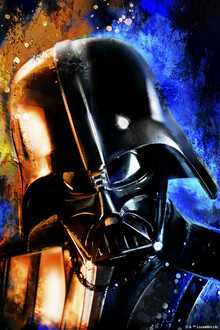 Lerretsbilde - Star Wars - Darth Vader Color