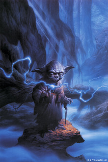 Wall mural - Star Wars - Yoda