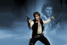 Canvastavla - Star Wars - Han Solo Weapon