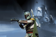 Wall mural - Star Wars - Boba Fett Weapon