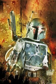 Canvastavla - Star Wars - Boba Fett Colour