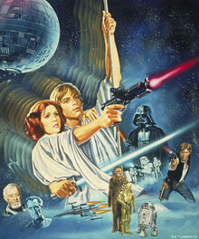 Canvastavla - Star Wars - Poster 3