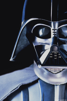 Canvastavla - Star Wars - Darth Vader Close Up