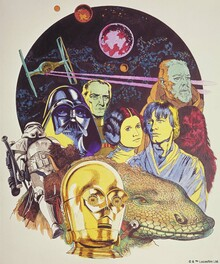Wall mural - Star Wars - Poster 6