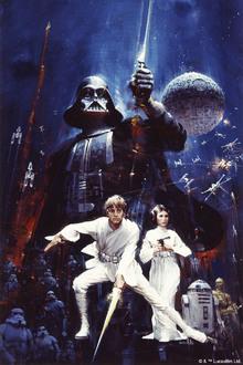 Canvastavla - Star Wars - Poster 9