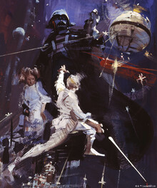 Wall mural - Star Wars - Poster 11