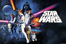 Canvastavla - Star Wars - Poster 12