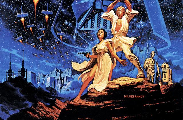 Star Wars Blue Sky Poster Wall Mural Amp Photo Wallpaper