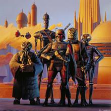 Canvastavla - Star Wars - Cloud City