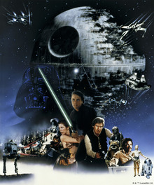 Wall mural - Star Wars - Poster 19