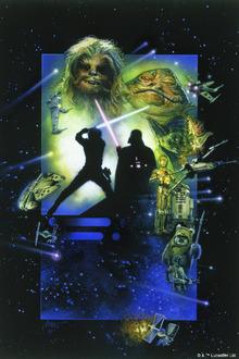 Canvastavla - Star Wars - Poster 20
