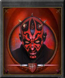 Canvastavla - Star Wars - Darth Maul