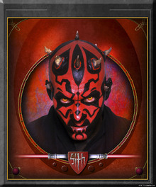 Fototapet - Star Wars - Darth Maul