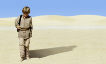 Canvas-taulu - Star Wars - Young Anakin Skywalker 1