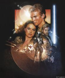 Canvastavla - Star Wars - Anakin Skywalker and Padme Amidala