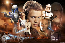 Fototapet - Star Wars - Desert Collage