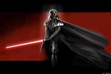 Canvastavla - Star Wars - Darth Vader Red