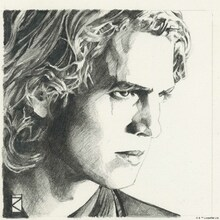 Wall mural - Star Wars - Anakin Skywalker Graphite