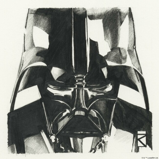 Star Wars - Darth Vader Graphite