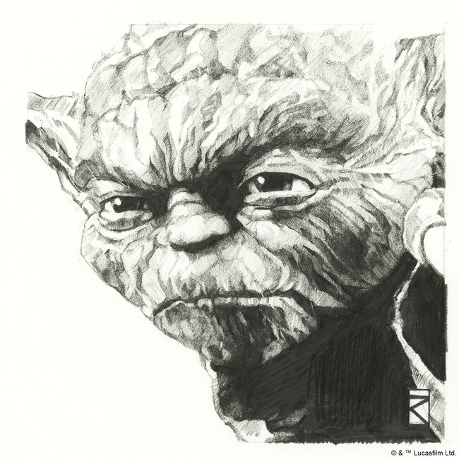 Star Wars - Yoda Graphite