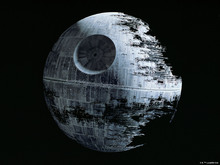 Wall mural - Star Wars - Death Star 2