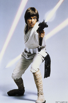Wall mural - Star Wars - Luke Skywalker Weapon