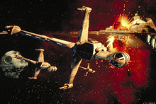 Fototapet - Star Wars - B-wing Fighters