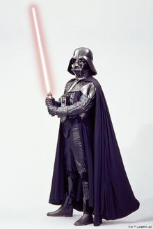 Canvastavla - Star Wars - Darth Vader Lightsaber 1