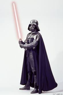Canvastavla - Star Wars - Darth Vader Lightsaber 1