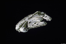 Lærredsprint - Star Wars - Millennium Falcon Space