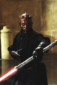 Fototapet - Star Wars - Darth Maul Lightsaber 1