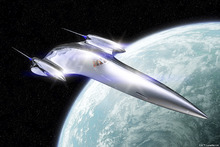 Fototapet - Star Wars - Queen's Royal Starship