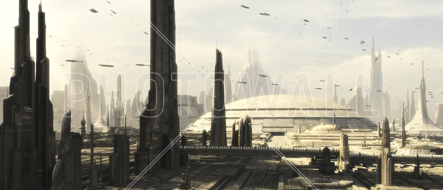 Star Wars - Coruscant Buildings 1