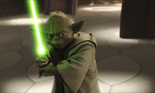 Fototapet - Star Wars - Yoda in Geonosis Secret Hangar