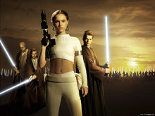 Fototapet - Star Wars - Padme Amidala Sunset