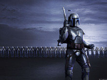 Canvastavla - Star Wars - Jango Fett 1