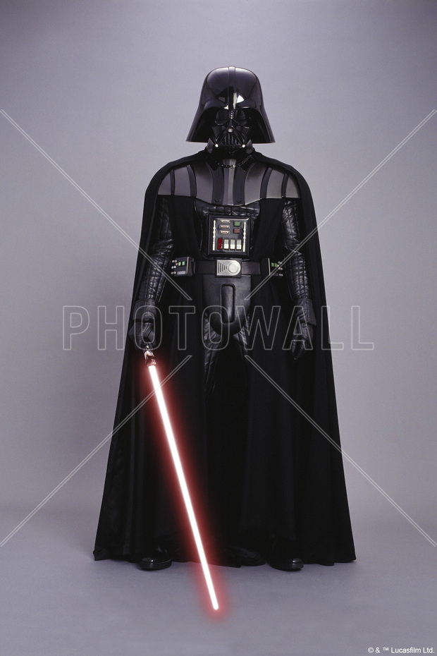 star wars darth vader studioshoot 1 bilder p lerret photowall. Black Bedroom Furniture Sets. Home Design Ideas
