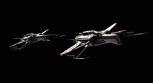 Canvastavla - Star Wars - Starfighters Night