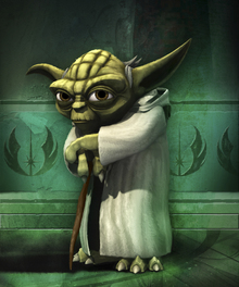 Canvastavla - Clone Trooper - Yoda