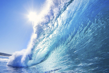 Фотообои - Big Blue Surfing Wave