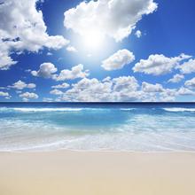 Fototapet - Summertime at the Beach