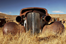 Canvas print - Car abandoned in the 1930's