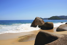 Canvas-taulu - Beautiful Beach in Brazil
