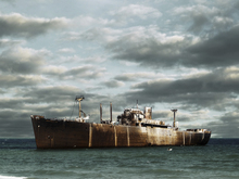 Wall mural - Ship Wreck