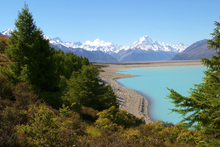 Lærredsprint - Lake Pukaki