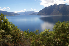 Fototapet - Nz Lake