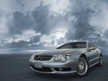 Canvas print - Mercedes-Benz SL55