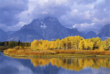 Canvas print - Grand Teton